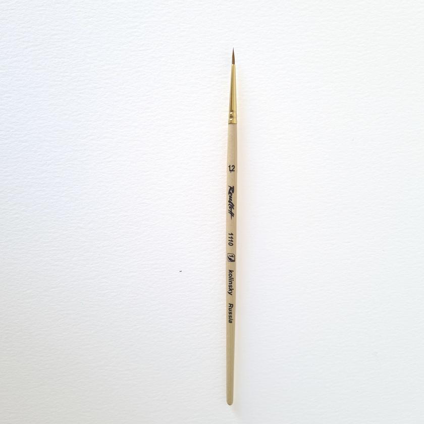 Pincel de pelo natural de marta Kolinsky