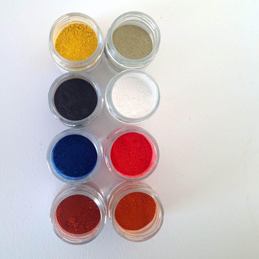 pigmentos para iconos