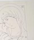 Detalle de boceto